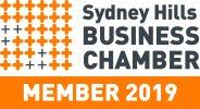 Sydney Hills Business Chamber - member logo