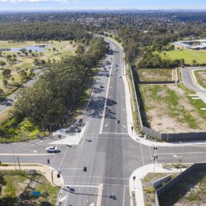 New Illawarra Road Barden Ridge Infrastructure Project